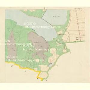 Böhmisch-Fellern - c0977-1-003 - Kaiserpflichtexemplar der Landkarten des stabilen Katasters