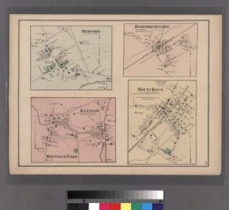 Katanoh, Town of Bedford, N.Y. - Mount Kisco, Town of Bedford and New Castle, Westchester Co. N.Y.