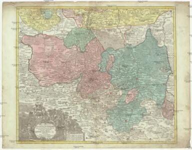 Marchionatus Lusatiae superioris felicissimo Poloniae regis, electoris Saxoniae, sceptro florens, dynastiis et praefecturis suis distributus