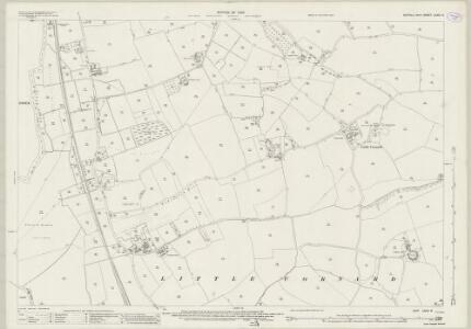 Suffolk LXXIX.8 (includes: Great Cornard; Great Henny; Little Cornard; Middleton) - 25 Inch Map