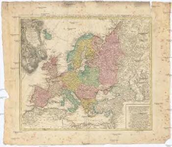 Europa secundum legitimas Projectionis Stereographicae regulas et juxta recentisimas observationes aeque ac relationes