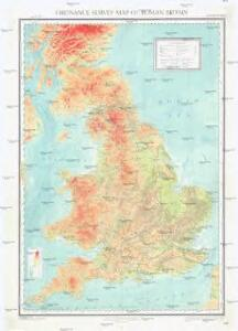Ordnance survey map of Roman Britain