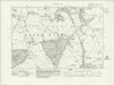 Hertfordshire XL.SE - OS Six-Inch Map