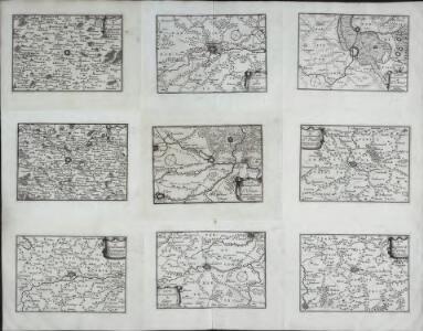 Carte du gouuernement de Hesdin