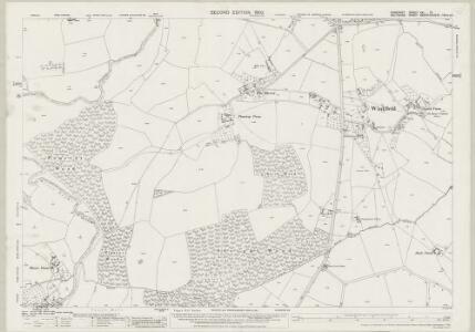 Somerset XXI.12 (includes: Norton St Philip; Southwick; Tellisford; Wingfield) - 25 Inch Map