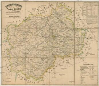 Special-Karte des Prager Kreises