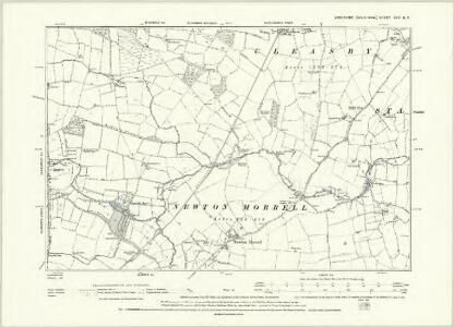 Yorkshire XXV.NW - OS Six-Inch Map