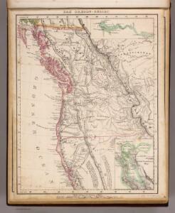 Oregon-Gebiet.