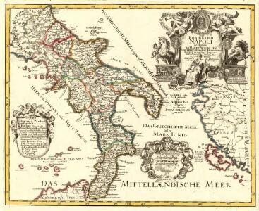 Das Königreich Napoli in dessen XII Haupt Provincien