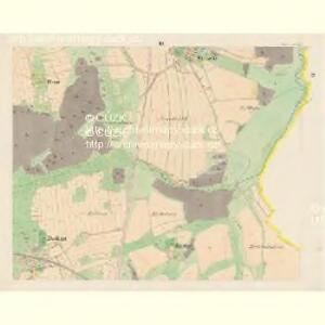 Nettrowitz - c5078-1-003 - Kaiserpflichtexemplar der Landkarten des stabilen Katasters