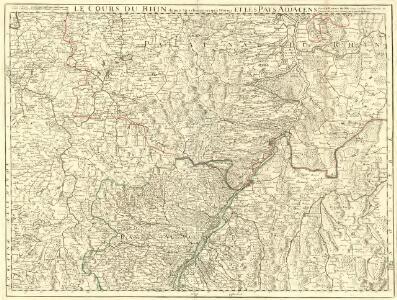 Le Cours du Rhin depuis Strasbourg jusqu'a Worm et les Pays Adjacens
