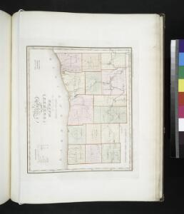 Map of the county of Wayne / by David H. Burr; engd. by Rawdon, Clark & Co., Albany, & Rawdon, Wright & Co., New York.; An atlas of the state of New York: containing a map of the state and of the several counties / by David H. Burr.