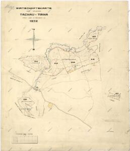 Hospodářská mapa revíru Tachov-Trnová