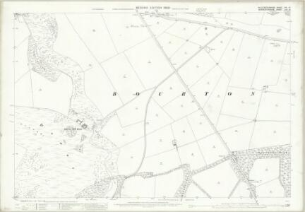 Gloucestershire XIV.16 (includes: Bourton on the Hill; Cutsdean; Sezincote) - 25 Inch Map