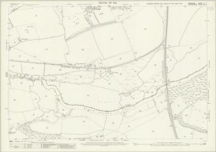 Berkshire X.7 (includes: Abingdon; Culham; Nuneham Courtenay; Radley) - 25 Inch Map