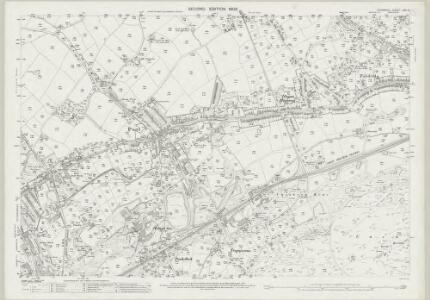Cornwall LXIII.6 (includes: Camborne Redruth) - 25 Inch Map