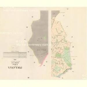 Pollanka - c5973-1-002 - Kaiserpflichtexemplar der Landkarten des stabilen Katasters
