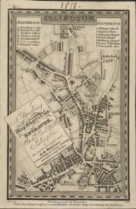 Trade Card Map of Islington