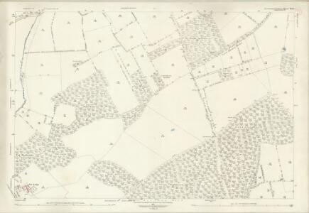 Northamptonshire VI.11 (includes: Duddington; Fineshade; Kings Cliffe; Wakerley) - 25 Inch Map