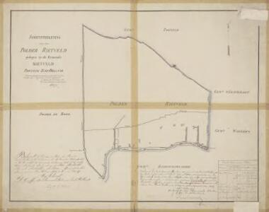 Polder Rietveld, gemeente Rietveld, De Bree en Woerden.