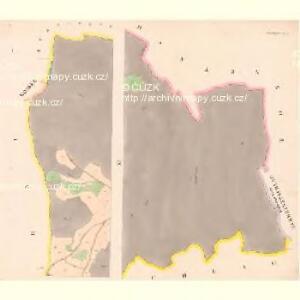 Prachatitz (Prachatice) - c6076-1-001 - Kaiserpflichtexemplar der Landkarten des stabilen Katasters