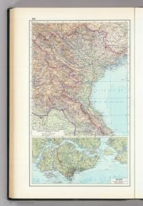 133.  Democratic Republic of Vietnam (North Vietnam).  The World Atlas.