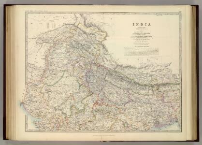 India (northern sheet).