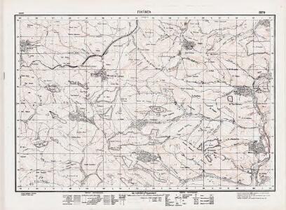Lambert-Cholesky sheet 3370 (Fîntînița)