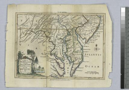 A map of Maryland with the Delaware counties and the southern part of New Jersey &c. / by T. Kitchin, geogr.
