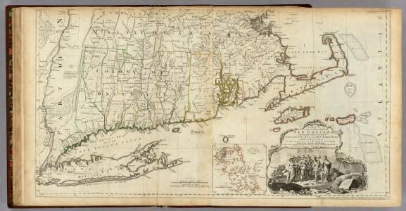 The Provinces of Massachusetts Bay and New Hampshire. (Southern section)
