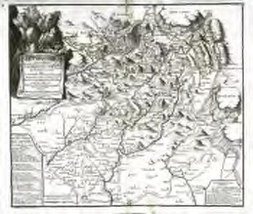 Les montagnes des Sevennes ou se retirent les fanatiques de Languedoc et les plaines des environs ou ils font leurs courses