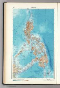 127.  Philippines.  The World Atlas.