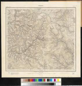 Meßtischblatt [7515] : Kniebis, 1899
