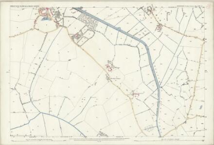 Shropshire XIII.14 (includes: Cockshutt; Ellesmere Rural; Hordley; West Felton) - 25 Inch Map