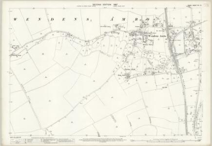 Essex (1st Ed/Rev 1862-96) VIII.12 (includes: Newport; Wendens Ambo) - 25 Inch Map