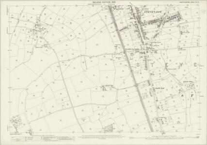 Hertfordshire XII.15 (includes: Ippollitts; Langley; Stevenage; Wymondley) - 25 Inch Map