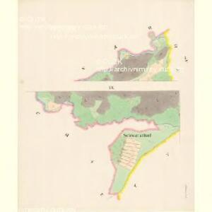 Althütten - c7262-1-008 - Kaiserpflichtexemplar der Landkarten des stabilen Katasters