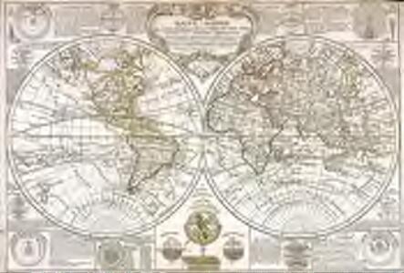 Mappe-Monde ou carte générale de la terre et des mers