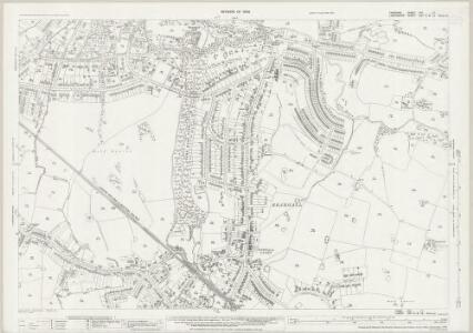 Cheshire XIX.11 (includes: Cheadle and Gatley; Hazel Grove and Bramhall) - 25 Inch Map
