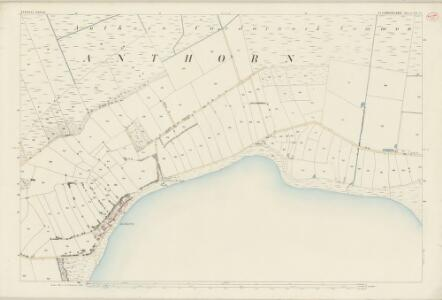 Cumberland XIV.15 (includes: Bowness) - 25 Inch Map
