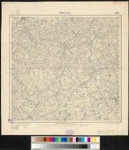 Meßtischblatt 2651 : Hattingen, 1907