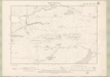 Argyll and Bute Sheet XVIII.SW - OS 6 Inch map