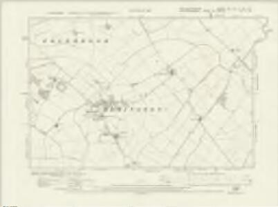 Northamptonshire XIX.SE & XX.SW - OS Six-Inch Map