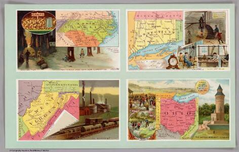 North Carolina, Connecticut, West Virginia, Ohio.