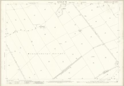 Yorkshire CXXVI.14 (includes: Foxholes; Langtoft; Luttons; Weaverthorpe) - 25 Inch Map