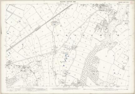 Cheshire XXXII.3 (includes: Frodsham; Helsby) - 25 Inch Map