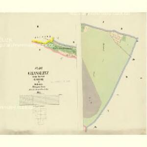 Grasslitz - c3515-1-001 - Kaiserpflichtexemplar der Landkarten des stabilen Katasters