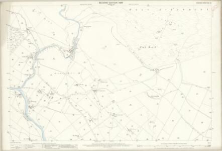 Durham XXX.16 (includes: Forest And Frith) - 25 Inch Map