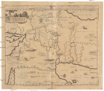 Carte de la situation du paradis terrestre, et des pais habitez par les patriarches