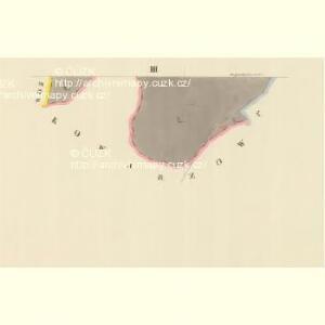 Weissöhlhütten (Biela Lhotta) - m0076-1-003 - Kaiserpflichtexemplar der Landkarten des stabilen Katasters